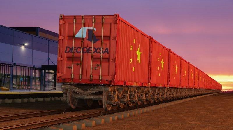 DECOEXSA conecta China y España a través del transporte ferroviario